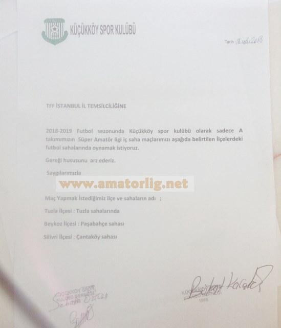 Karakuş: İç saha maçlarını Beykoz'da oynayacağız
