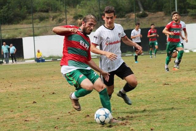 BJK ile Paşabahçespor futbol ziyafeti sundu