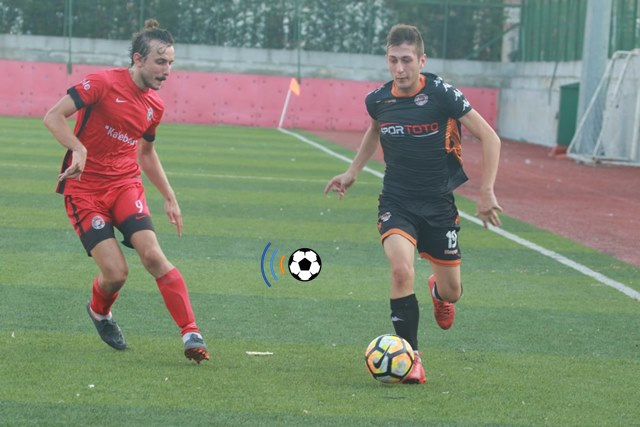 Davutpaşa ile Reşitpaşaspor gol düellosu yaptı