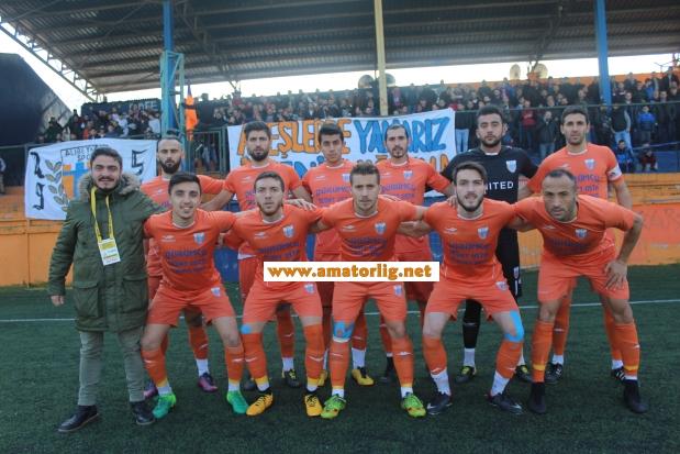 Alibeyköyspor iyi oyununu 4 golle süsledi