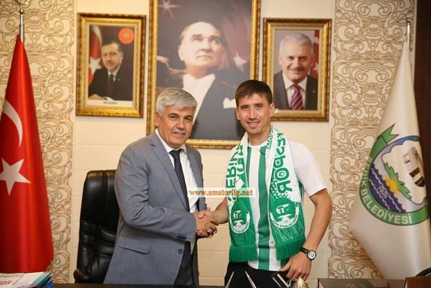Serik Belediyespor'a bir şampiyon daha