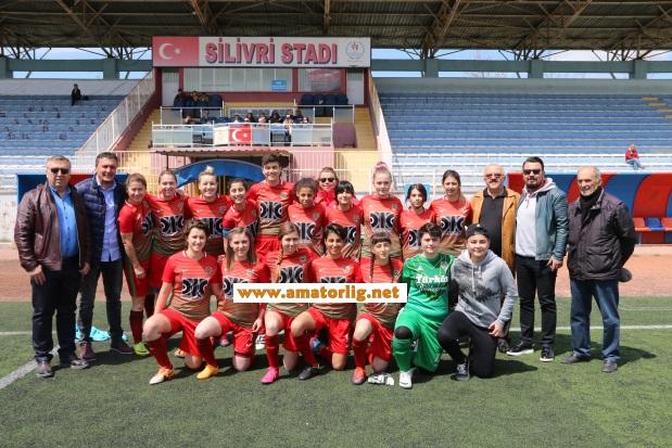 Silivri Alibeyspor ile Bakırköy Zara kardeşçe bitirdi