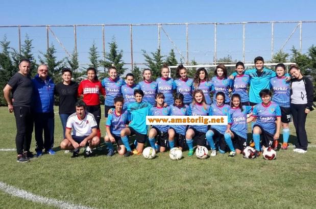 Silivri Alibeysporlu kızlar gözdağı veriyor