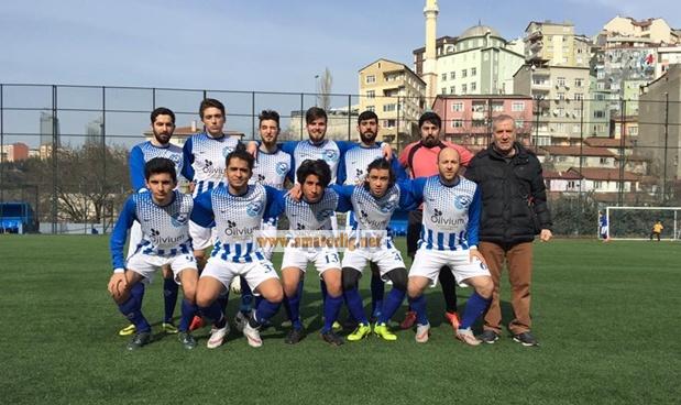 Yeni Ortabayırspor'dan rahat galibiyet